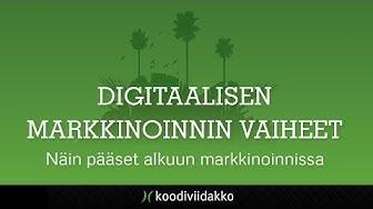 Digitaalisen markkinoinnin vaiheet