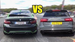 BMW M2 vs Mercedes C63 AMG vs RS6 - DRAG RACE!