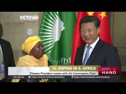 Chinese President meets with AU Commission Chair