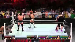 WWE 2k16 livestream no commentary episode 2
