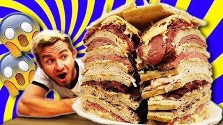 WORLD'S LARGEST DELI SANDWICH! (12,000+ CALORIES)