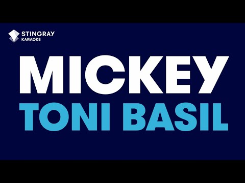 Mickey in the style of Toni Basil | Karaoke with Lyrics