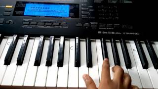 How to play on keyboard Laila main Laila