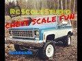 Rc scale studio model 4x4 1:10  rc4wd trail finder 2 Chevrolet Blazer K5 scale fun