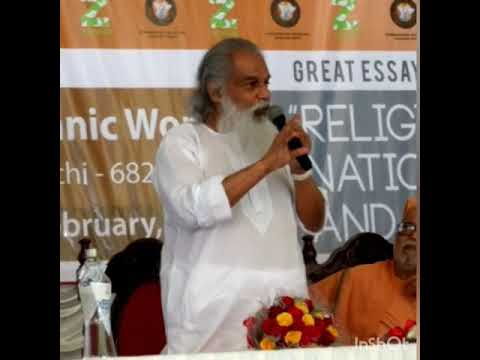 Dr. K J Yesudas being humble enough to explain how he could help himself from stop singing