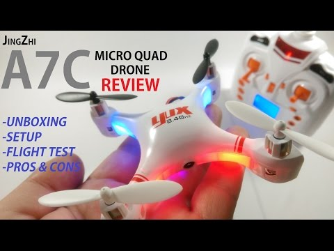 JINGZHI A7C Review - HD Camera Micro Drone  [Unboxing, Setup, Flight Test, Pros & Cons]