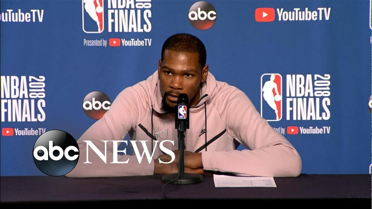 Kevin Durant lifts Golden State to 3-0 lead in NBA Finals