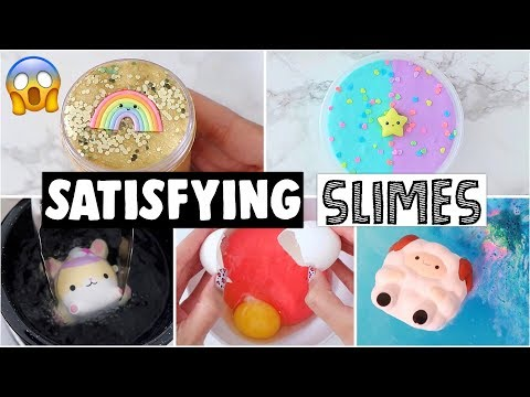 EXTREME SLIME & SQUISHY MAKEOVERS, DARES & CHALLENGES COMPILATION! *2018 satisfying slime rewind*
