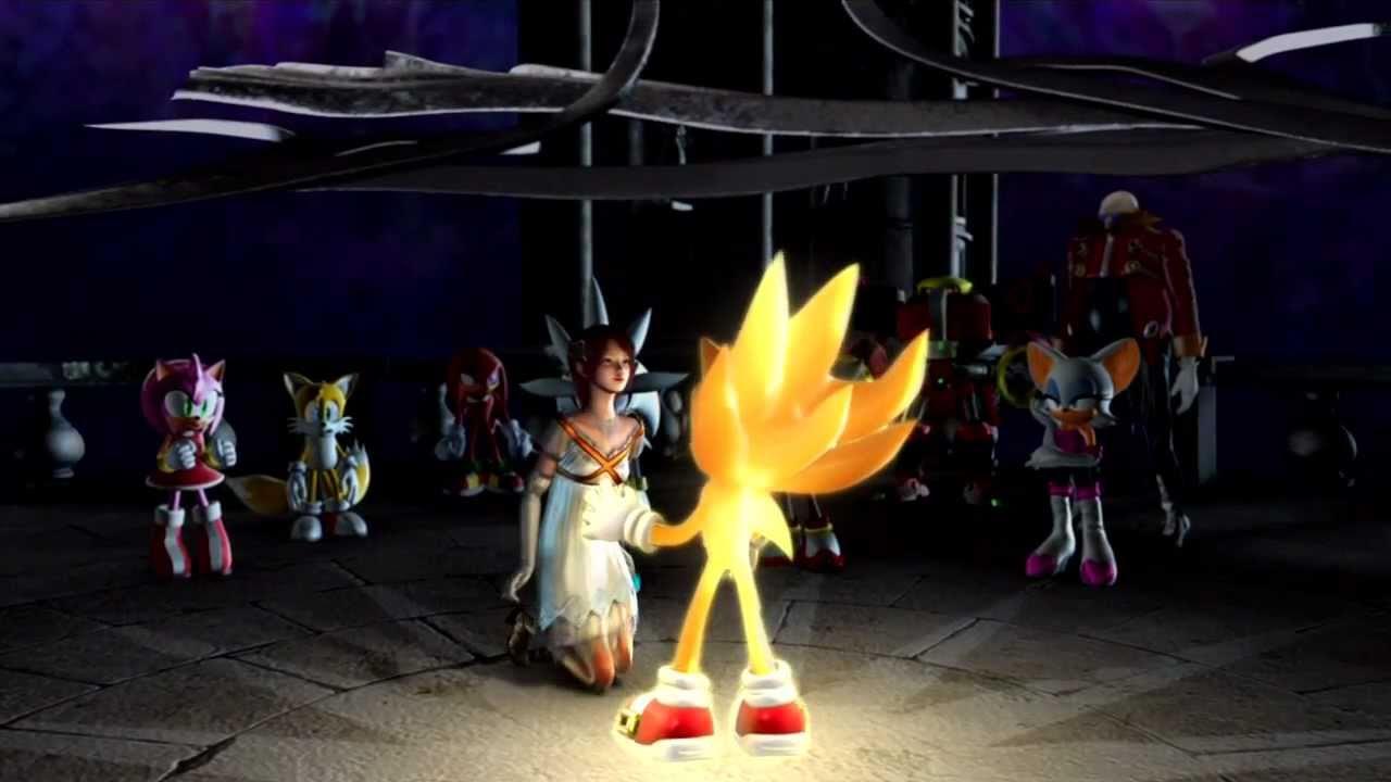 Sonic 06: CGI Cutscenes