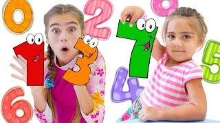 ناستيا تعلم العد من ١ الى ١٠ بطريقة مسلية وممتعة