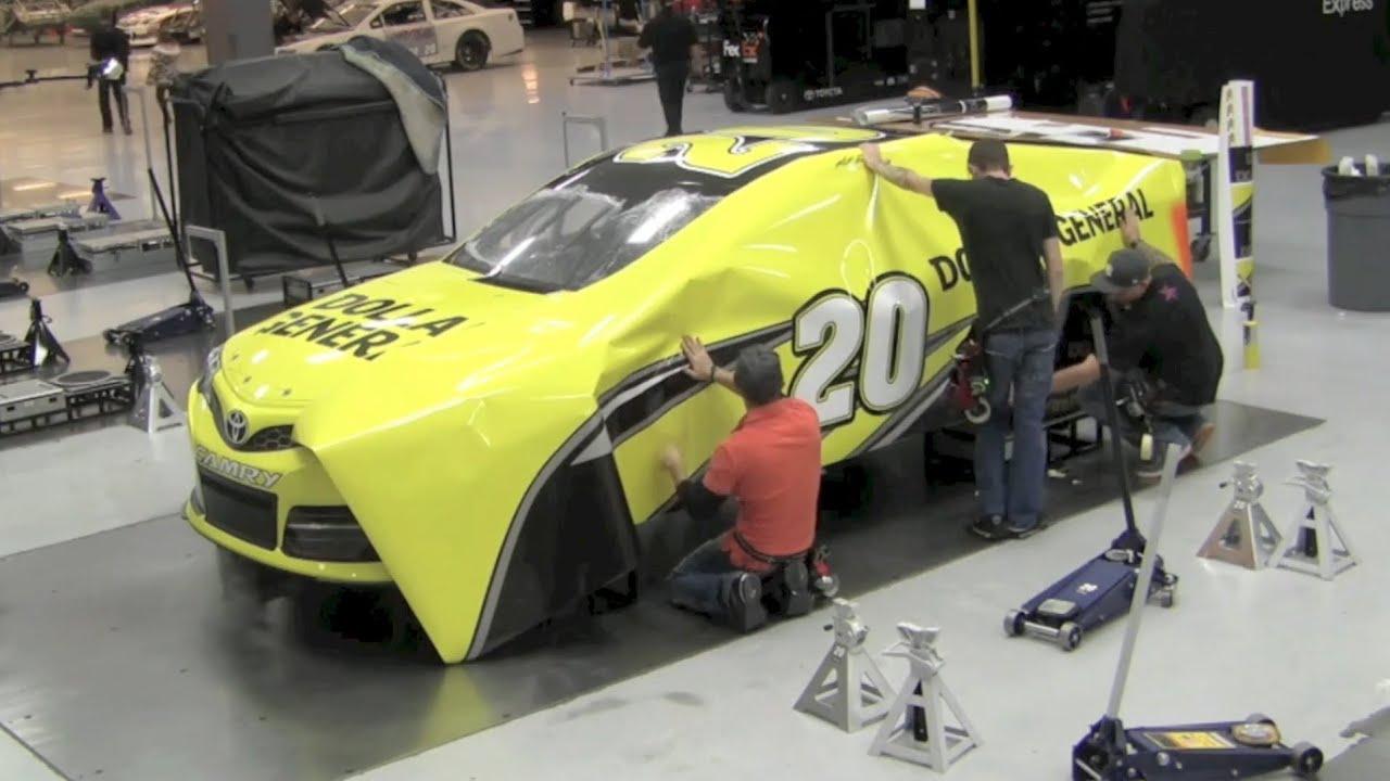 Race Car Wrap Colors
