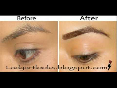 Eye Brow Turorial; How to get the perfect brow (UPDATED W/ VIDEO)
