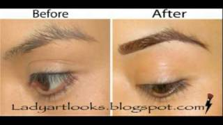 eye brow turorial how to get the perfect brow updated w video