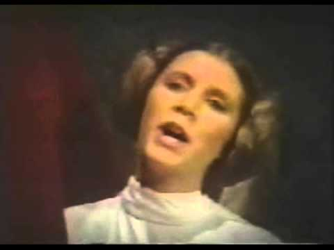 Carrie Fisher Sings A Holiday Song