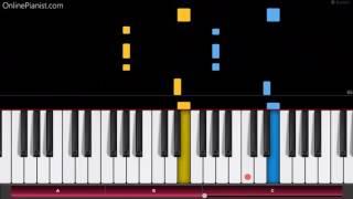 Kendrick Lamar - HUMBLE - Easy Piano Tutorial