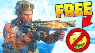 It is actually FREE...😫 (Black Ops 4 Spinal Trap Reactive CAMO)