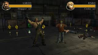 Final Fight: Streetwise Arcade Mode 2 player 60fps