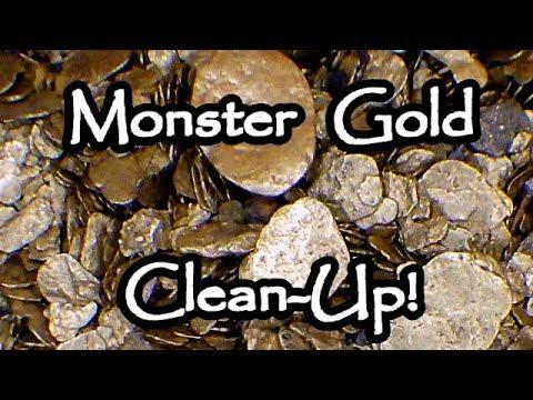 Gold cleanup Fraser river cons (Spring 2018)