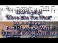 How To Play Move Like You Want Ben Howard Guitar Lesson Part 1 mp3