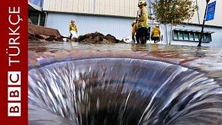 93 yıllık ana su borusu patladı - BBC TÜRKÇE