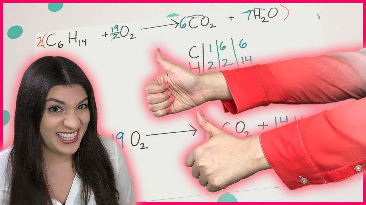 balancing chemical equations fractions how to pass  balancing chemical equations fractions how to pass chemistry