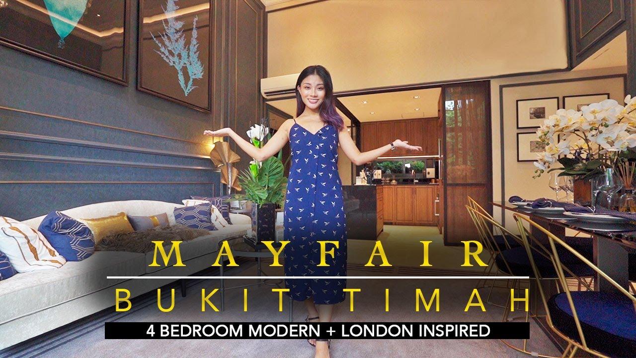 Mayfair - London inspired, 1518sqft 4 bedroom apartment in Bukit Timah!
