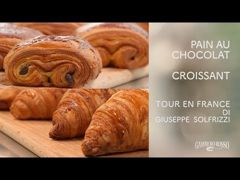 Croissant e Pain au chocolat - Tour en France di Giuseppe Solfrizzi