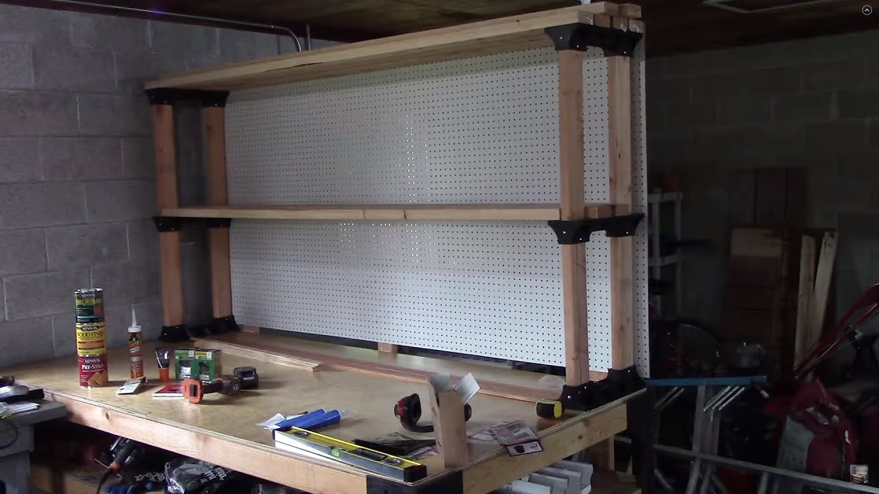 My Completed Workbench 2x4 Basics Workbench Review Youtube
