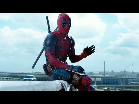 "Deadpool ""Maximum Effort"" Highway Scene - Deadpool (2016) Movie CLIP HD"