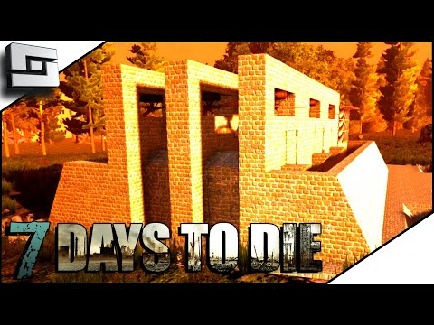Will My New HORDE BASE Survive The Horde? 7 Days To Die A18 E15