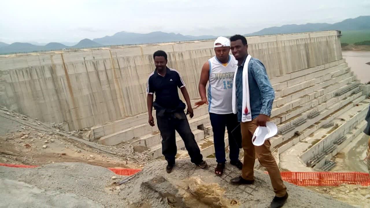 Abay [Grand Reneissance Dam] visit-Wollega University-2018