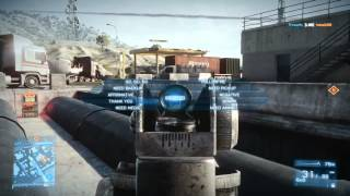 Battlefield 3 - Online Gameplay Test W/Live Commentary