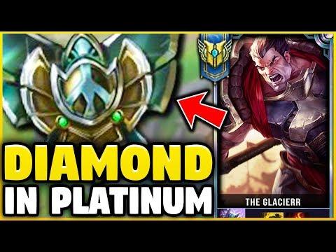 I TOOK MY DARIUS INTO PLATINUM 5! DIAMOND DARIUS MAIN VS PLATINUM ELO! - League of Legends