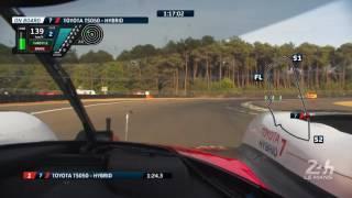 3:14.791! #7 Toyota Gazoo Racing Kamui Kobayashi just did the best time ever around Le Mans24