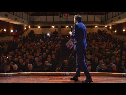 Matteo Renzi a Latina