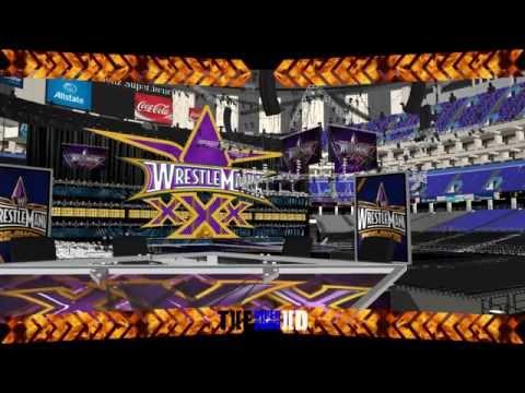 WrestleMania XXX Set HD