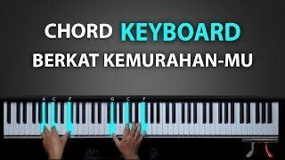 Belajar Keyboard BERKAT KEMURAHANMU | Rohani Piano Keyboard