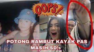 FELI POTONG RAMBUT KAYAK PAS MASIH SD | Tips biar keliatan muda haha! | Felicya Angellista