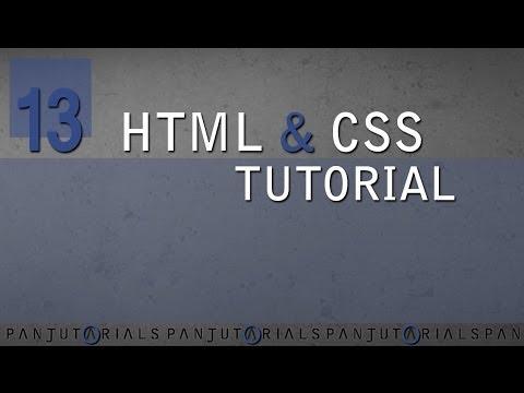 HTML & CSS Tutorial Für Anfänger 13 -- Border
