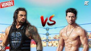 Tiger Shroff vs Roman Reigns - Tiger Shroff new movies - 2019 WWE spoof