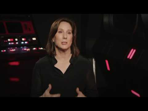 Rogue One: A Star Wars Story: Lucasfilm President Kathleen Kennedy Interview fragman