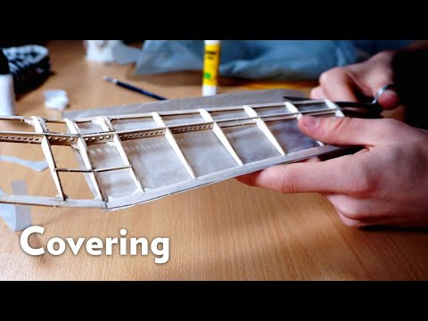 How To Cover a Model Airplane with Tissue