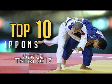 TOP 10 IPPONS | Grand Prix Tbilisi 2017| JudoHeroes