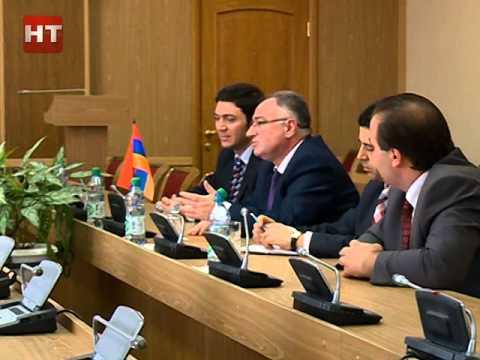 Великий Новгород посетил генеральный консул Армении в Санкт-Петербурге Грайр Карапетян