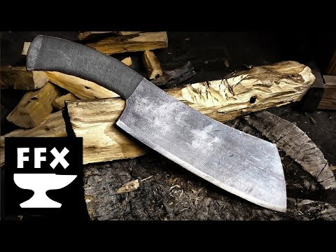 How to make a cleaver knife from unhardened steel scrap (will it hold an edge?)