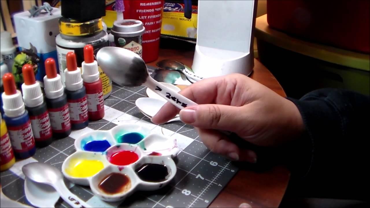 Painting miniatures color master primer - Let S Talk About Andrea Miniatures Andrea Color Ink Set
