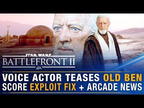 Voice Actor Teases Old Ben + Score Exploit Fix + Major Arcade News Coming Soon | Battlefront Update