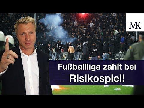 DFL blecht für Polizeieinsätze - Hammer Urteil Fußballliga zahlt bei Risikospielen! #FragMingers