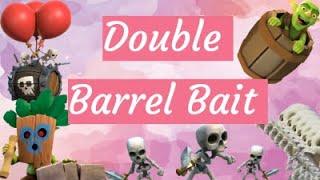 TOP 75 LADDER USÏNG DOUBLE BARREL BAIT!