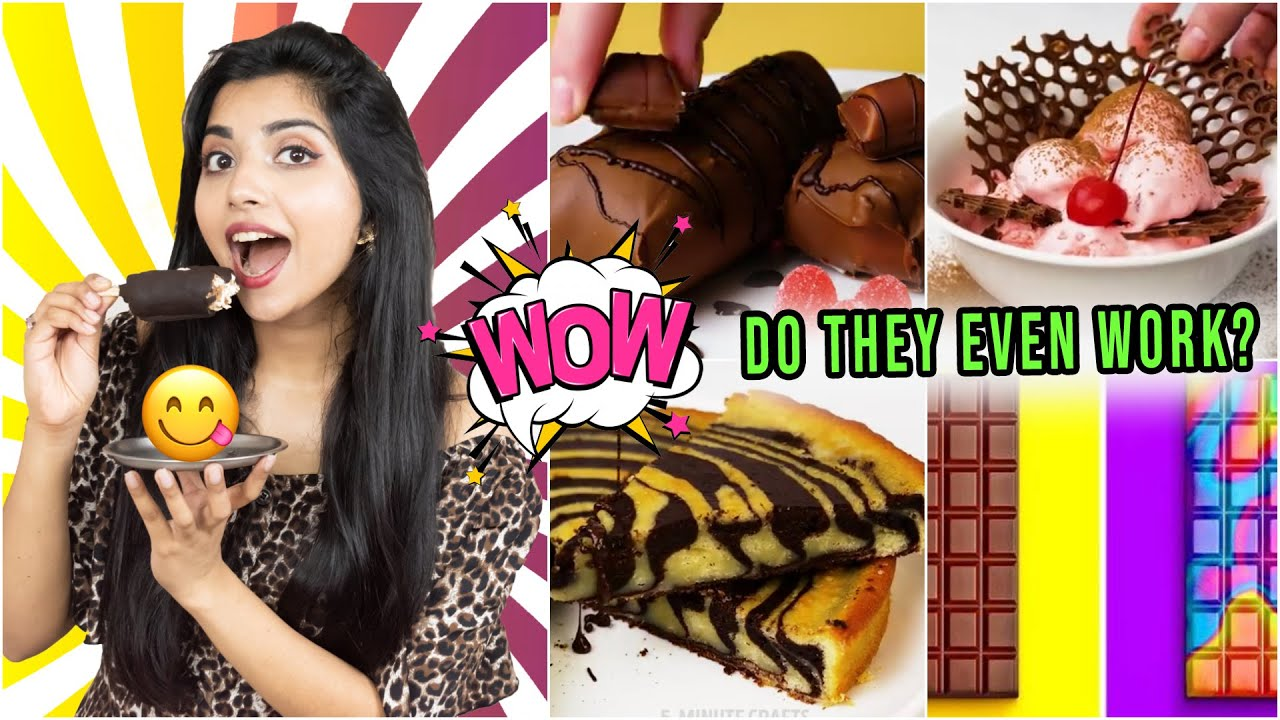 Testing Out *Viral* CHOCOLATE Hacks by 5 Minute Crafts | *I DIDN'T EXPECT THIS*